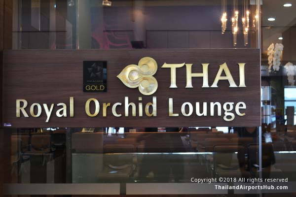 Thai Airways Royal Orchid Lounge