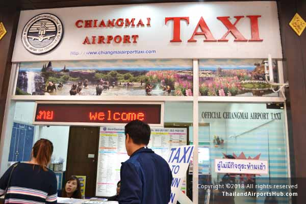 taxi in chiangmai airport
